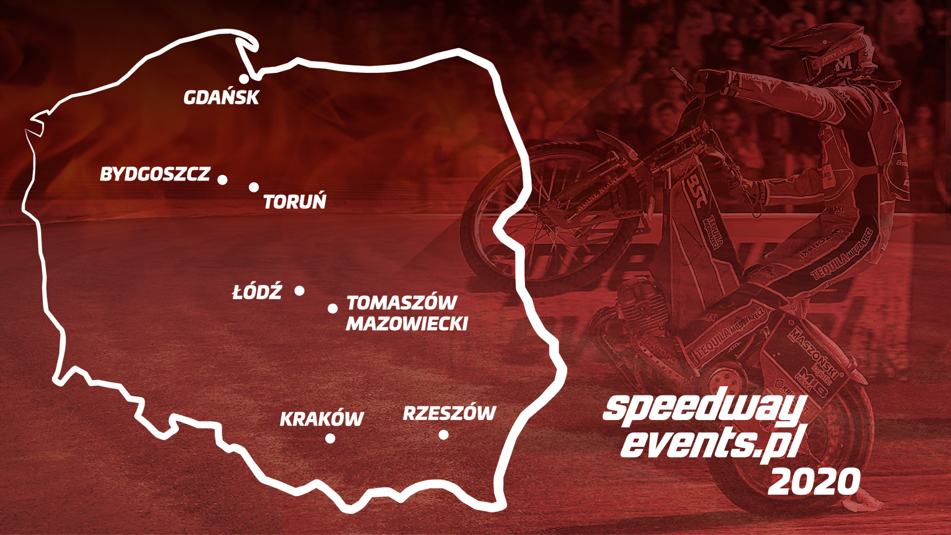 speedwayEvents Mapa 2020